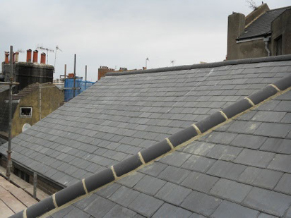 5000 Natural Welsh Slates on A Synagogue in Brighton